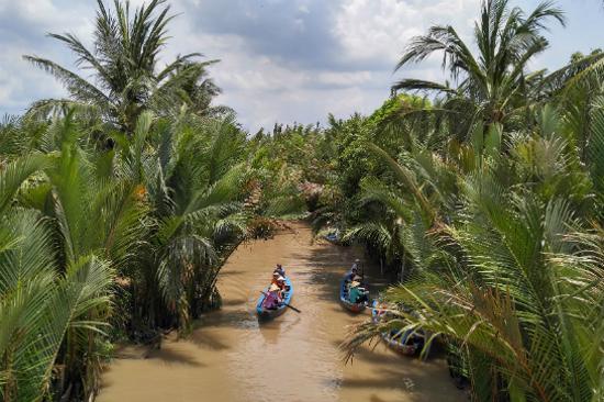 船遊金三角湄公河