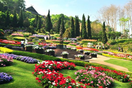 皇太后夏日行宮御花園