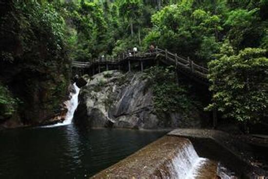 猴王寨瀑布群