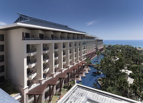 海棠灣9號酒店外觀
