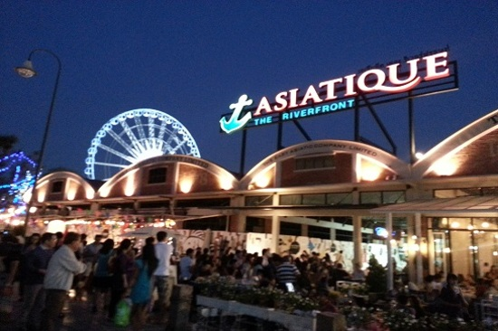 曼谷夜市Asiatique The Riverfront