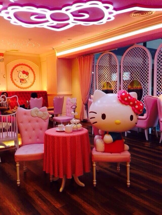 Senrio Hello Kitty House.