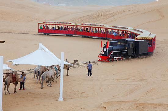 響沙灣小火車