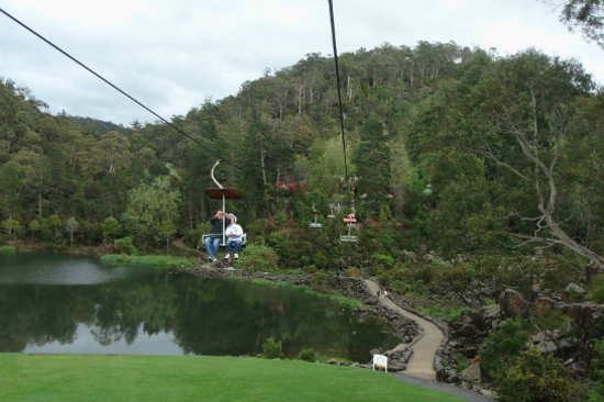 卡德奈特峽谷單軌吊椅