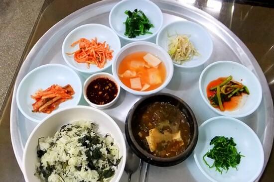 養生薊菜飯料理