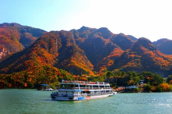 丹陽忠州湖遊船體驗