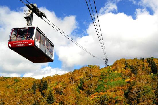 黑岳纜車紅葉