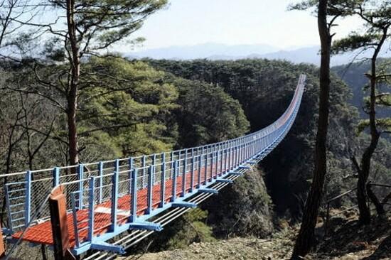 原州小金山懸索吊橋