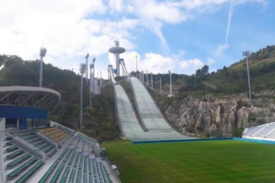 2018平昌冬季奧運Ski Jump Lounge