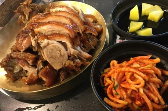 【米芝蓮選定餐廳】滿足五香豬手