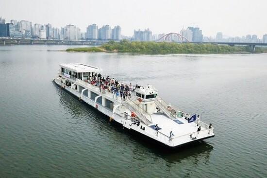 漢江遊覽船體驗