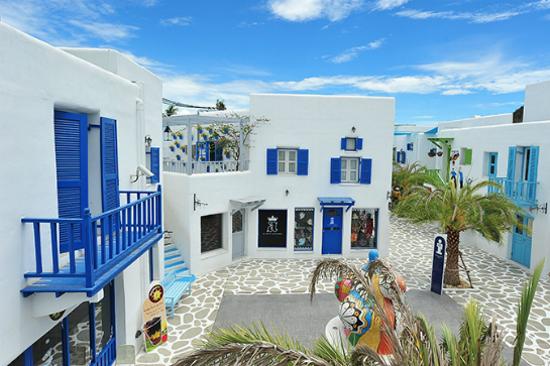 希臘浪漫小石屋主題公園