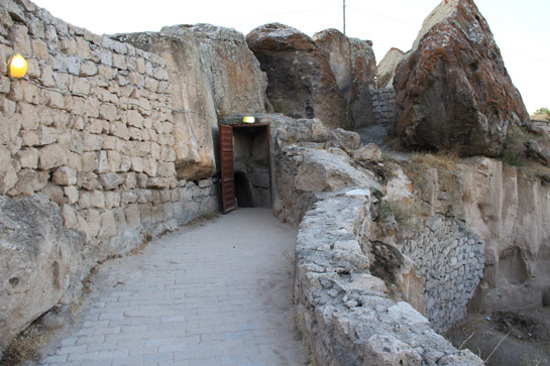 地下城市遺跡