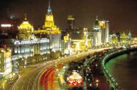 夜遊上海黃浦江