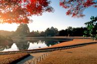 「賞紅葉名所」及「日本三大庭園之一」岡山後樂園