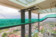 Sky Tower玻璃走廊及懸空伸展台