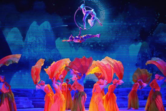 大型全景桂林風情歌舞秀《山水間》