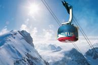 鐵力士峰~乘世界首創旋轉360度吊車