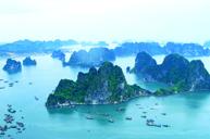 風光明媚,一次過飽覽越南北部最美景區~下龍灣及陸龍灣