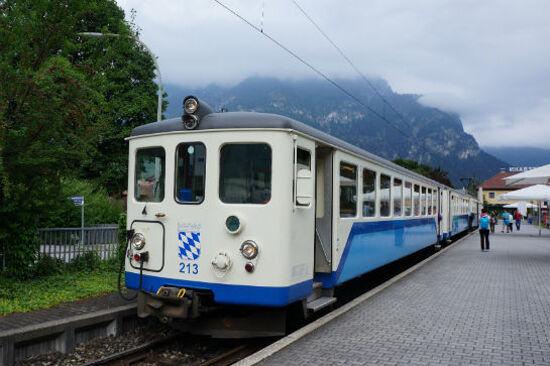 楚格峰登山火車