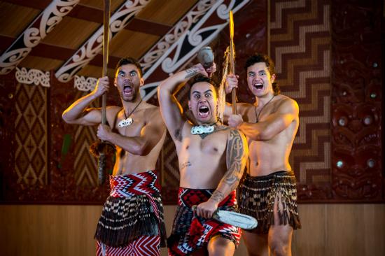 蒂普瓦毛利文化及地熱保護區享用傳統晚餐(高成本)