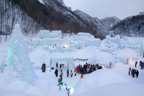 層雲峽冰瀑祭