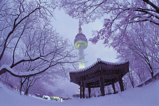 n-seoul-tower winter