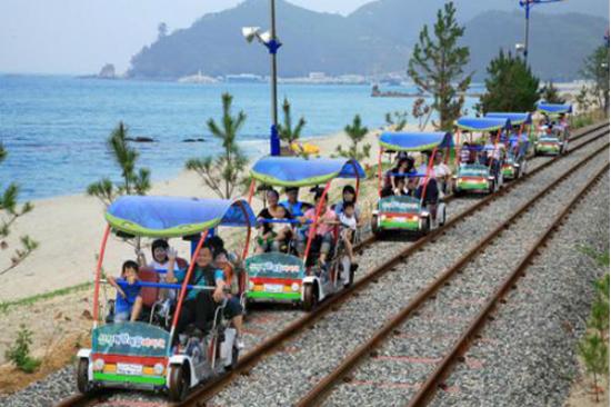 海洋鐵路自行車