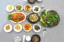 華川營養生菜+田螺大醬+大醬湯 +米飯