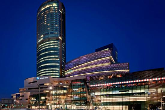 首爾國際品牌酒店Sheraton D-Cube City1