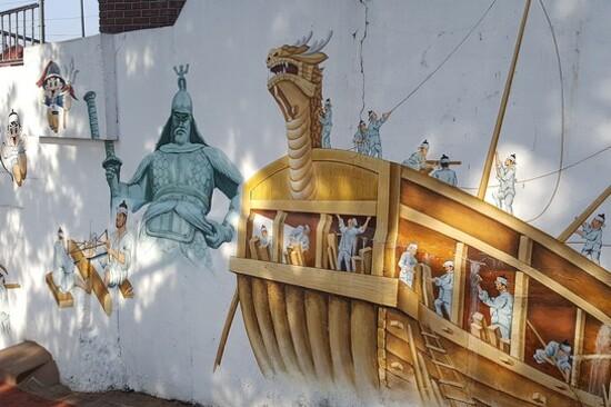 天使壁畫村