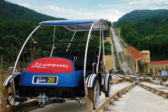 過山鐵路自行車