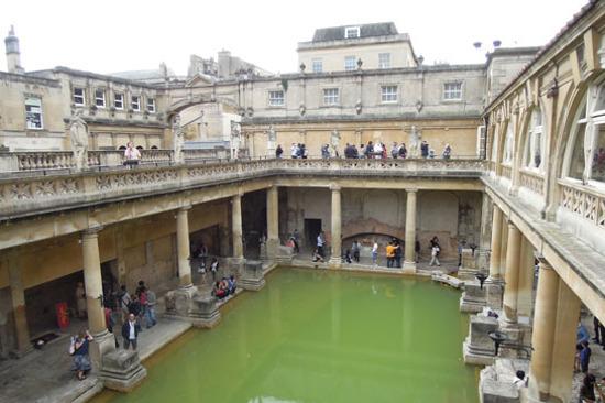 羅馬巴斯浴池博物館