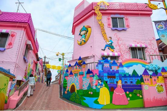 松月洞童話街