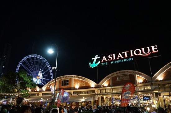 曼谷夜市Asiatique The Riverfront