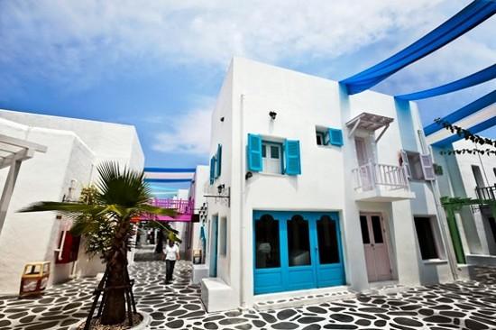 Santorini Park~希臘浪漫小石屋