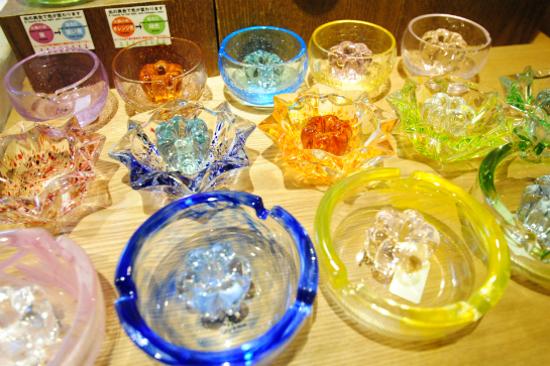 「北一硝子」玻璃精品店