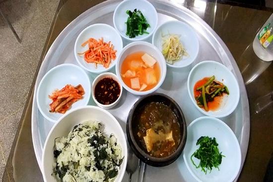 寧越薊菜飯料理