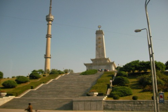 中朝友誼塔