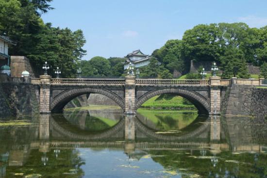 東京皇居(二重橋)