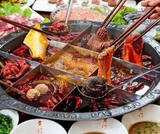 重慶原湯牛油老灶火鍋