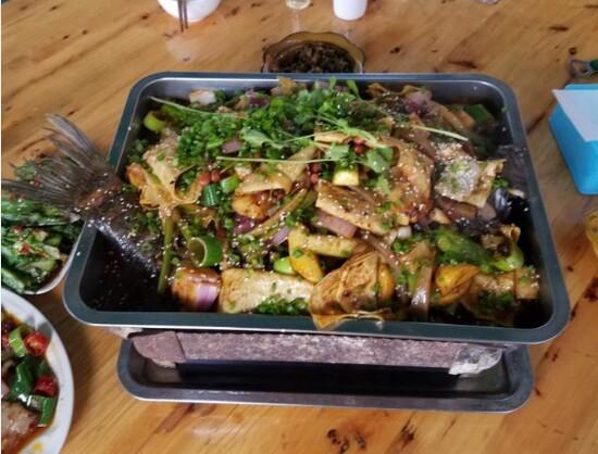 川味烤魚鍋