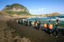 濟州海女海撈潛手表演