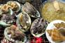 地道鮑魚粥及原隻烤鮑魚及海螺