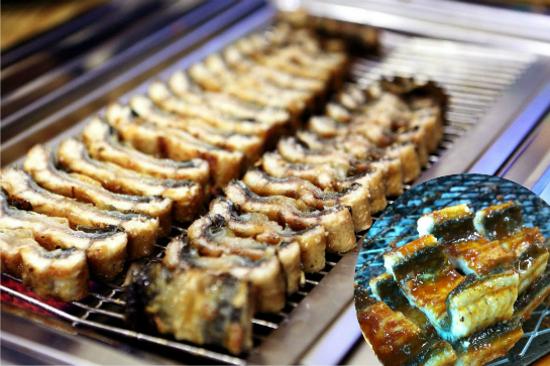 鹽燒濟州鰻魚