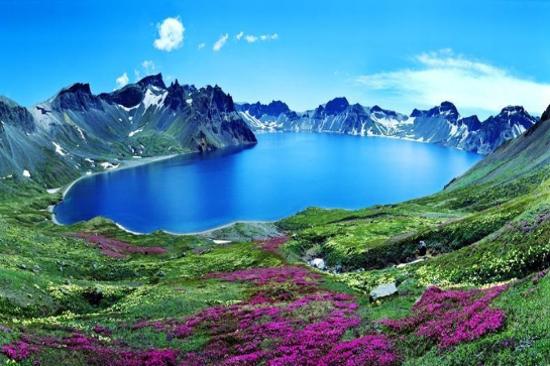 長白山北坡天池