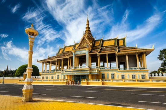 金邊西哈莫尼國王皇宮