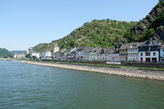 乘船暢遊萊茵河