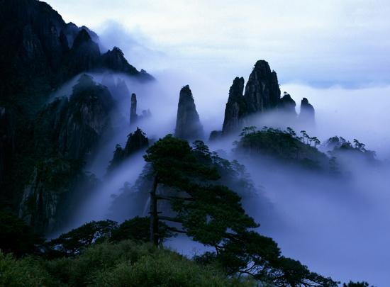 三清山雲海