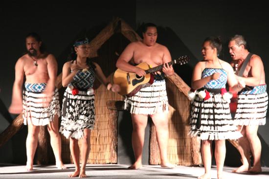毛里族文化表演